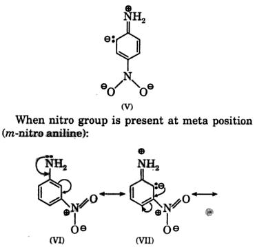 paranitroaniline weaker base than meta nitro aniline 2