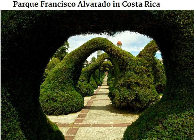 Parque Francisco Alvarado costarica