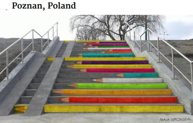 Pencil steps