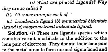 Pi-acid ligands 1