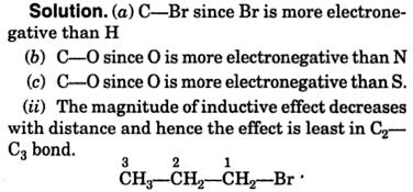 Polarity of Bonds and +I effect 2