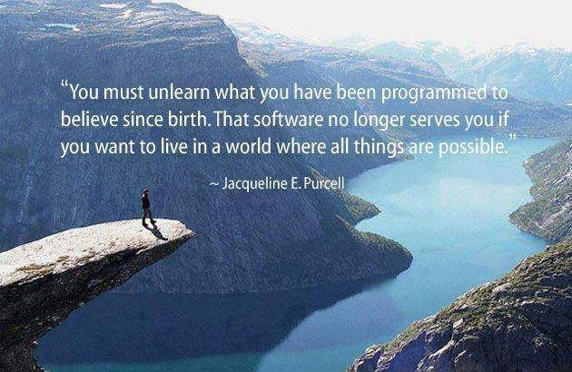 r u programmed to think in particular way