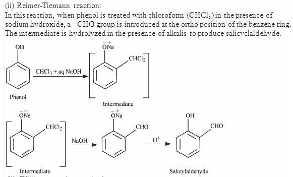 Reimer-Tiemann reaction