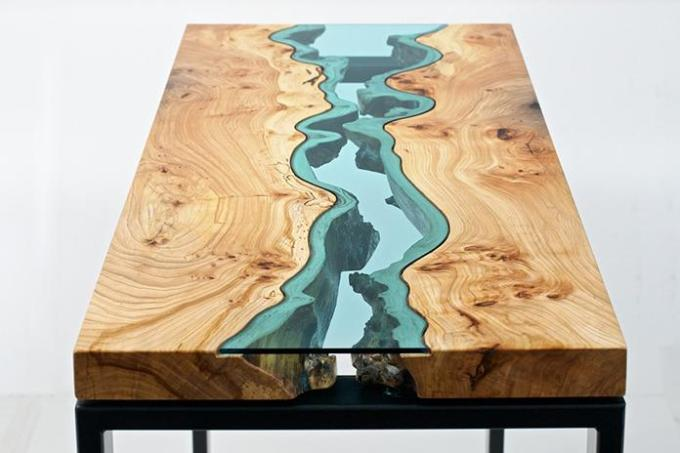 River in Table