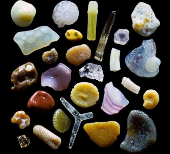 sand magnified