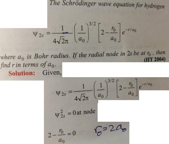 Scrodinger equation problem