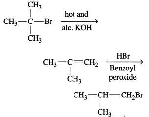 Tert Butyl Bromide to Isobutyl Bromide