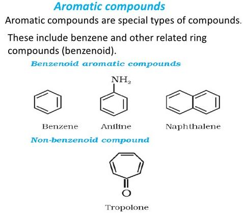 Tropolone non benzenoid compound