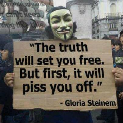 Truth will set u free