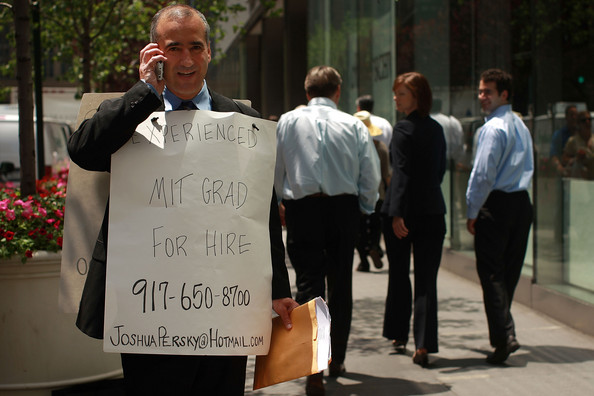 Unemployed MIT Grad for hire in street America USA