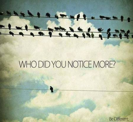 who did you notice more