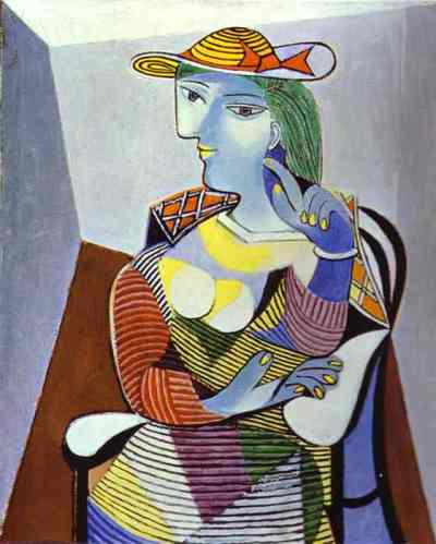 woman with hat pablo picasso