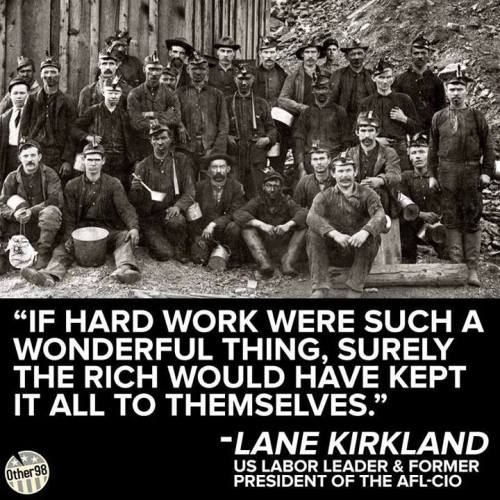 work hard for the rich
