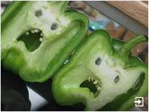 worried fearful capsicums