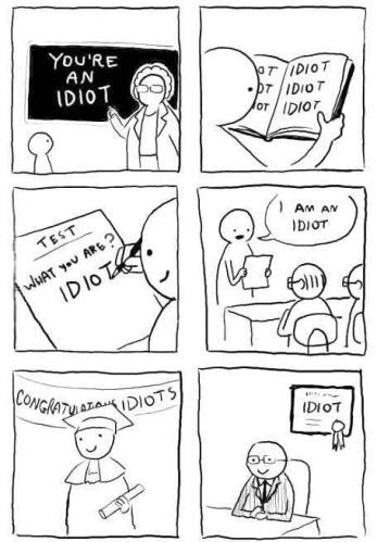 you r an idiot