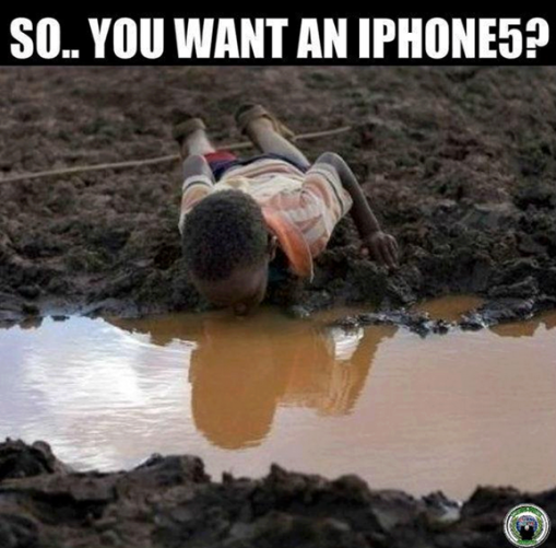 you want an iphone 5