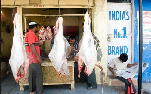 Beef shop in Hyderabad India's Number 1 brand