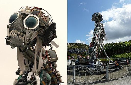 Mukh bhangchche Robot