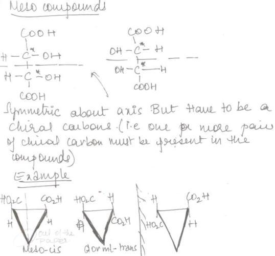1 Meso compounds