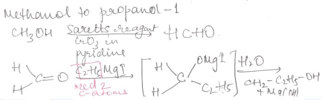1 Methanol to Propanol-1