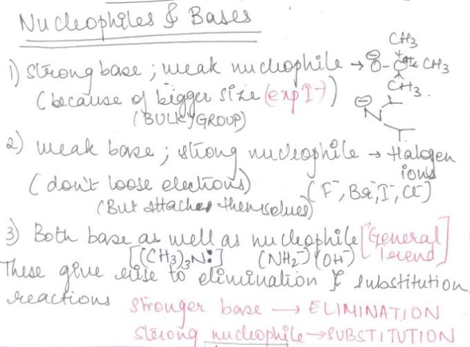 1 Nucleophiles and Bases