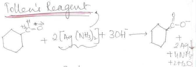 1 Tollen's Reagent