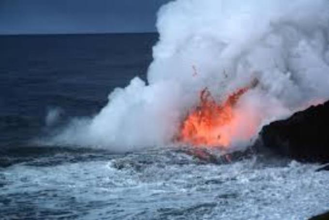 1 Undersea Active Volcano