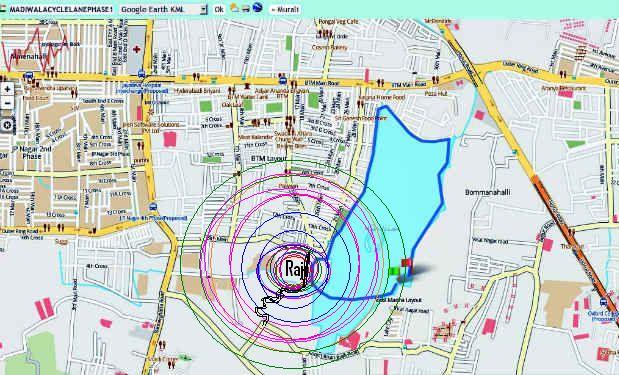 11 Map of Madiwala Lake Raj Lakeview Apartments