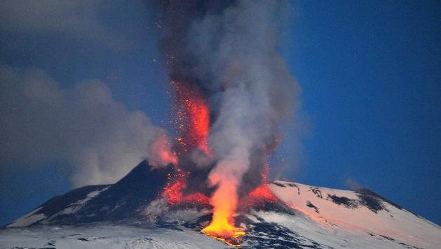 13 Active Volcanoes