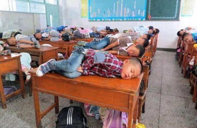 19 sleeping on the bench