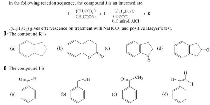 1a Identify the compounds