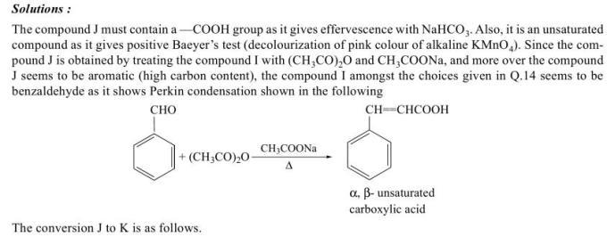 1b Perkin condensation