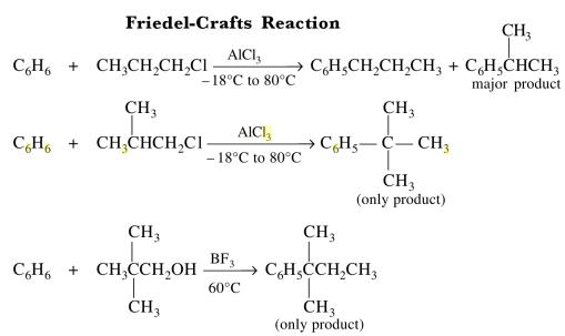 1d Friedel Crafts Reaction