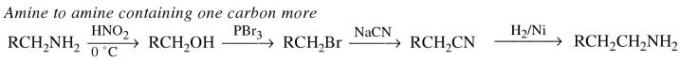 1f Amine to amine containing one carbon more
