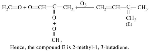 1f Organic compound C5H8 on hydrogenation