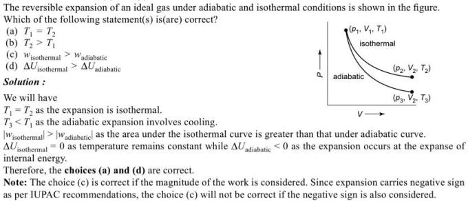 1h reversible expansion of ideal gas