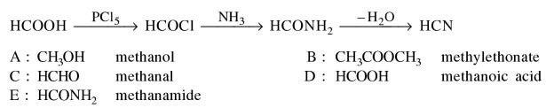 1i An organic compound A on treatment with