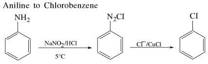 1i Aniline to Chlorobenzene