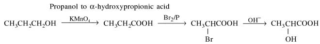 1i Propanol to Alpha-hydroxypropionic acid