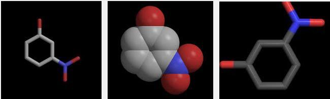 1m 4 nitrophenol or metahydroxynitrobenzene