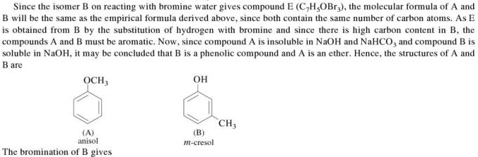 1o Organic compound containing C,H and O