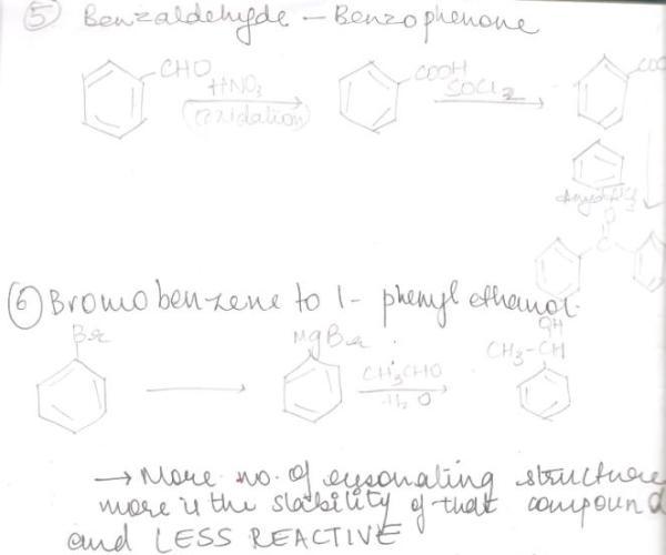 2 Benzaldehyde to Benzophenone