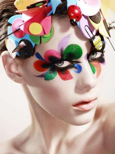 2 Narcisist woman makeup