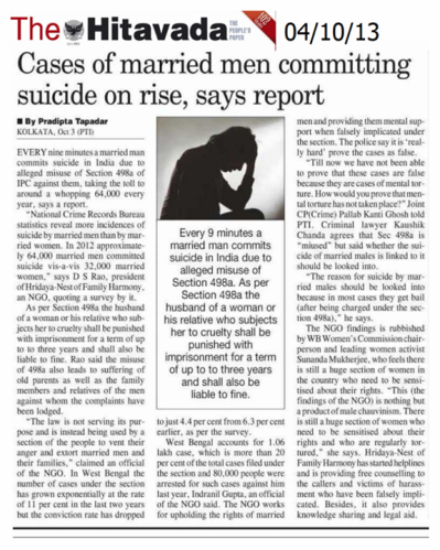 2 Too many married men are commiting suicide