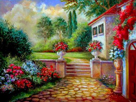 22 Painting of my villa