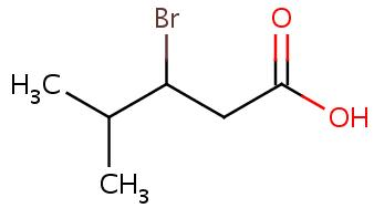 3-Bromo-4-methylpentanoic acid