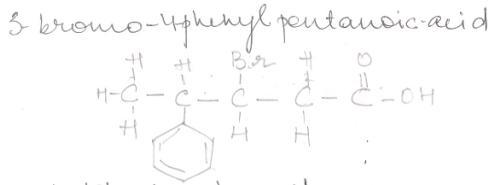 3-Bromo-4-phenylpentanoicacid