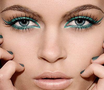 3 green eye makeup