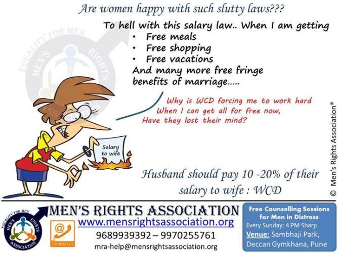 3 slutty laws for women