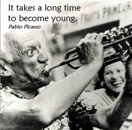 35 it takes long time to become young
